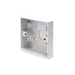 CED PB16/1 1gang 16mm plastic surface pattress mounting box