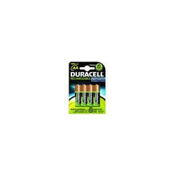 Duracell AA PK4 Staycharged Precharged batteries