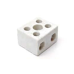 Norslo PC302 30amp 2 Pole Porcelain Connector Block
