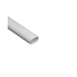 Schneider Mita OVL12W 12mm White PVC Oval Conduit 3m Length