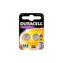 Duracell LR44 1.5 volt alkaline battery Pack=2