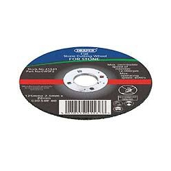 Draper 41546 flat 300mm x 3.5mm cutting disc for Stone