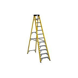 ABRU Werner 71612 12 step (11 useable ) 3.34.fibre glass stepladder