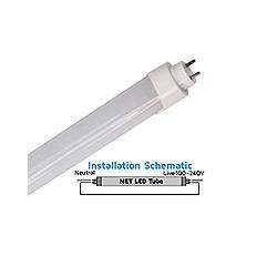 NET 11-01-05 T5 549mm 10watt LED Tube 5500k 900Lumens
