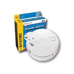 Aico EI141RC 240v Ionisation Smoke Alarm + Base