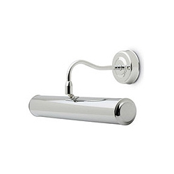 CED PL221SC Satin Chrome Picture Light (221mm lamp extra)