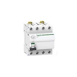 Schneider A9R44463 Acti 9 63 Amp 4 Pole 300ma RCCB Main Incomer