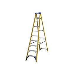 ABRU Werner 71610 10 step (9 useable) 2.79m.fibre glass stepladder