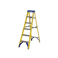 ABRU Werner 71606 6 step (5 useable) 1.67m.fibre glass stepladder
