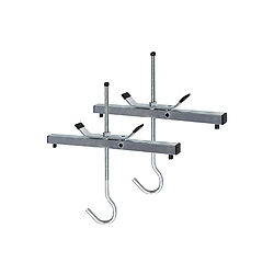 ABRU Werner 45016 Roof Rack Ladder Clamps (Pack of 2) (Locks Extra)