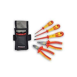CK Tools T5951 Electricians 5 Piece Core Tool Kit in Pouch