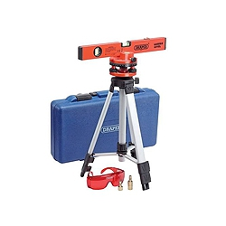 Draper 69580 400mm Laser Level Kit Includes Case & Tripod