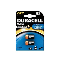 Duracell DLCR2 3 Volt Lithium Battery Pack of 2