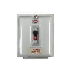 Eaton MEM 80SU 80amp 250v DP Mains Switch in Metal Sealable Enclosure