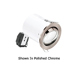 Aurora DLM842PC Chrome 11w SGU10 Adjustable Tilt Downlight