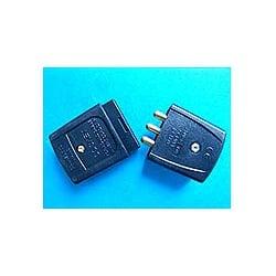 CED WFC103B 10amp 3pin Black Inline 2 part Rubber Flex Connector