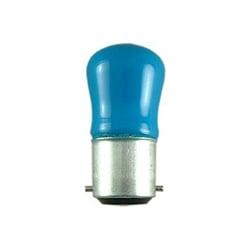 Bell 15 Watt 240 Volt BC (B22d) Blue Pygmy Sign Lamp