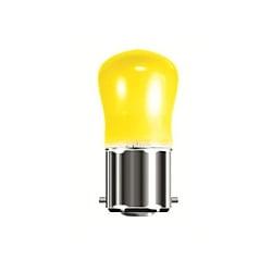 Bell 15 Watt 240 Volt BC (B22d) Yellow Pygmy Sign Lamp