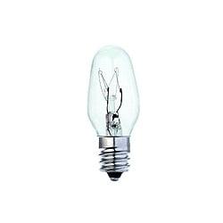 Bell 02393 7 Watt Candelabra E12 Clear Spare Nightlight lamp