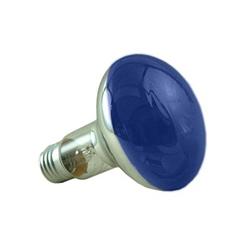 Crompton R8060BES 60 Watt R80 ES Blue Reflector Lamp