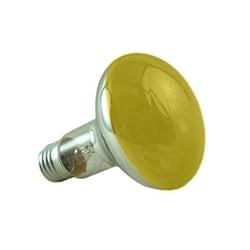 Crompton R8060YES 60 Watt R80 ES Yellow Reflector Lamp