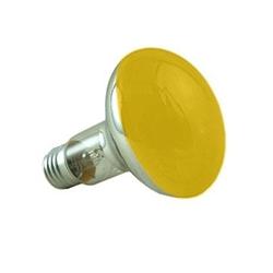 Crompton R8060AES 60 Watt R80 ES Amber Reflector Lamp