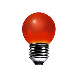 BELL 01519 15 Watt 240v ES Red G45 Round Coloured Lamp
