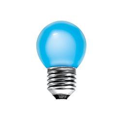 BELL 01513 15 Watt 240v ES Blue G45 Round Coloured Lamp
