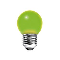 BELL 01515 15 Watt 240v ES Green G45 Round Coloured Lamp