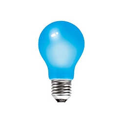 BELL 01525 25 Watt 240v ES Blue GLS Coloured Lamp