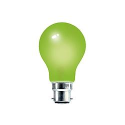 Crompton 25 Watt 240v BC Green GLS Coloured Lamp