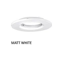 Enlite EN-BZE8MW Matt White Bezel IP65 for EN-DE8 and DE6 Downlight