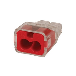 Ideal 30-1032 2 Port Push-In Wire connectors 0.75-2.5mm (Each)