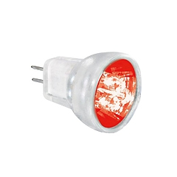 Aurora AU-LED/MR8RD 0.3 Watt Red MR8 25mm LED Constant Voltage Lamp