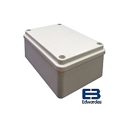 DEG J56120 120x80x50mm IP56 Plain ABS Enclosure GE125
