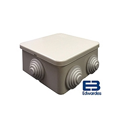 DEG J44S80 80x80x40mm IP44 ABS Box with grommets GE844S