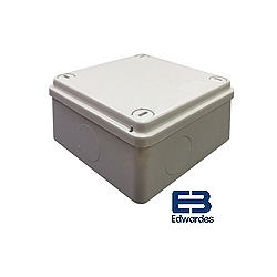 DEG J6100 100x100x50mm IP56 Plain ABS Enclosure GE115