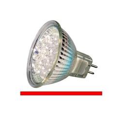 Kosnic KLED1.5/HIO/G5.3 1.5 Watt 12 Volt GX5.3 MR16 Red LED Lamp