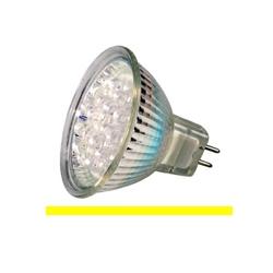 Kosnic KLED1.5/HIO/G5.3 1.5 Watt 12 Volt GX5.3 MR16 Yellow LED Lamp