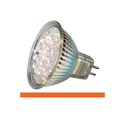 Kosnic KLED1.5/HIO/G5.3 1.5 Watt 12 Volt GX5.3 MR16 Orange LED Lamp