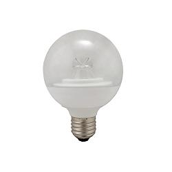 BELL 05726 7 Watt ES Warm White Clear Non-Dimmable 80mm Globe Lamp