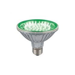 Crompton LEDPAR3048G 48 LED 2.5 Watt Green PAR20 ES Lamp