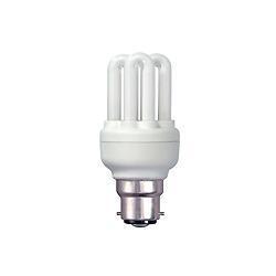 BELL 04974 11 Watt T2 BC Warrm White Micro Compact Fluorescent Lamp