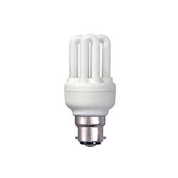 BELL 04970 9 Watt T2 BC Warrm White Micro Compact Fluorescent Lamp