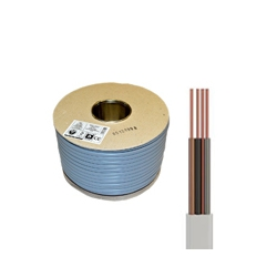 100 Metre Coil of 1.0mm 6243Y grey 3 core and earth cable