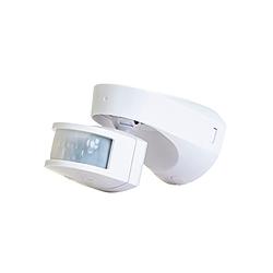 Timeguard SLW2300 White PIR 2.3kW Tungsten, 140w LED, 500w Fluor 12m