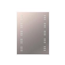 ELD BALI IP44 60 LED Illuminated Mirror with Demist Pad/Shaver Socket