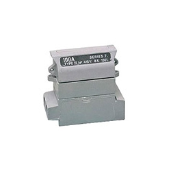 Henley 54132-04 Grey Single Pole 100a Fuse unit (Less Fuse)