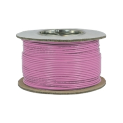 6.0mm Tri-Rated BS6231 Pink Cable (100 Metre Coil)