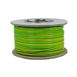 10.0mm Tri-Rated BS6231 Green And Yellow Cable (100 Metre Coil)
